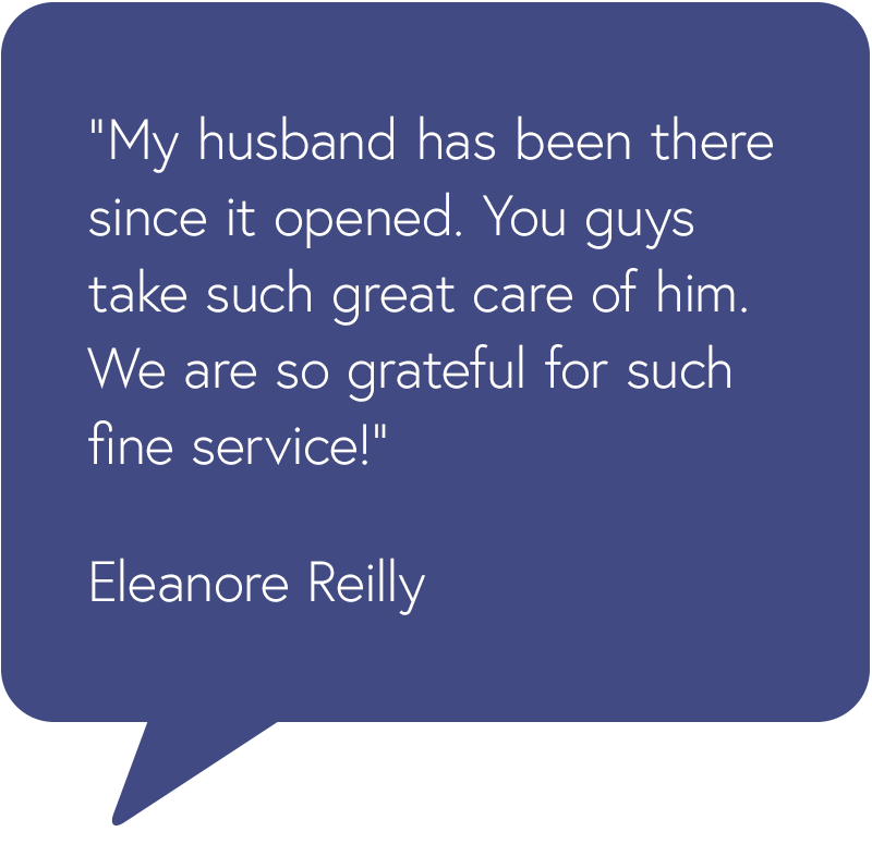 Orland Park Testimonial from Eleanore Reilly