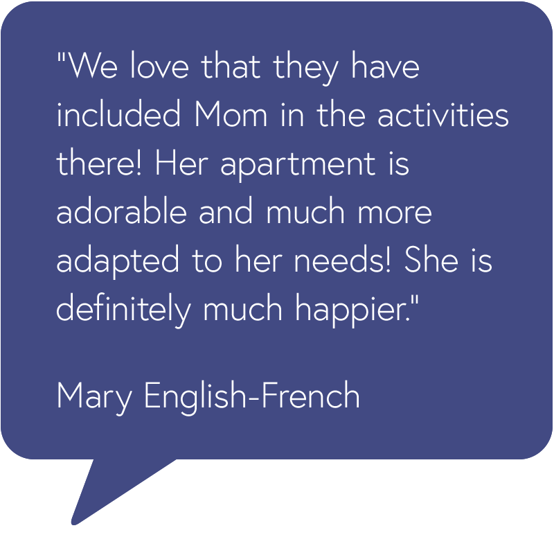 Brookfield Testimonial from Mary English-French